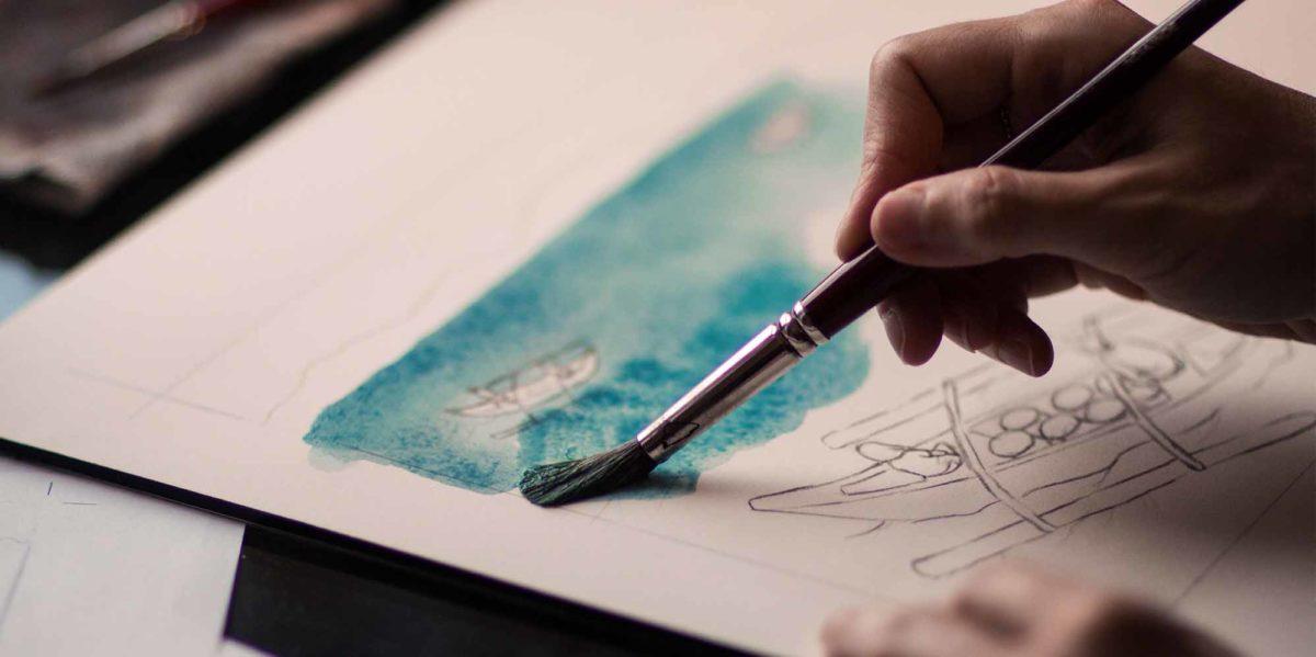 حصص تعلم الرسم على الانترنت